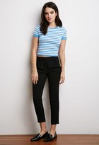 Forever 21 Striped Sweater Tee