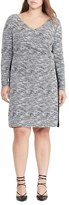 Lauren Ralph Lauren Plus Size Women's Knit Sheath Dress