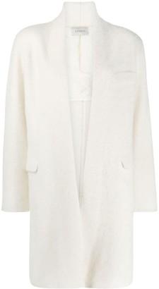 Laneus Long-Sleeved Open Front Coat