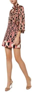 Marella Ustica Mixed-Print Dress