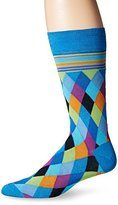 Bugatchi Men's Diamonds Forever Fancy Sock