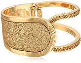 GUESS Hinged with Stones and Glitter Bangle Bracelet