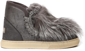 Mou Eskimo Sneakers Fur Insert Ankle Boots