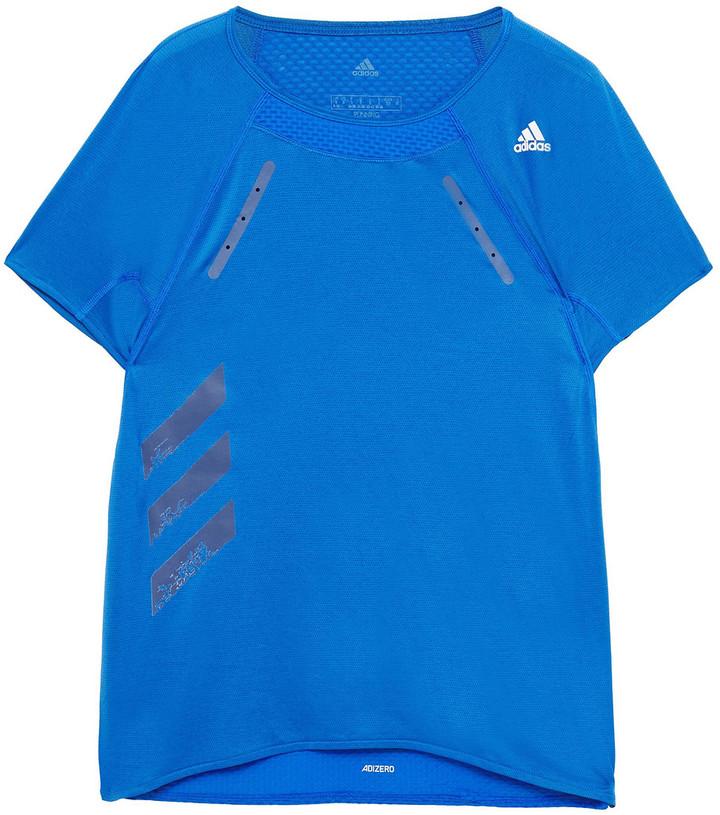 adidas Printed Stretch-mesh Top