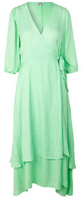 MBYM Bibbi Dress Mint Patina Green - XS
