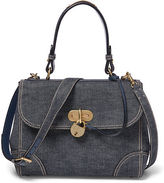 Ralph Lauren Small Denim Tiffin Bag