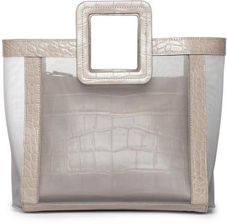 STAUD Shirley Bicolor Large Tote Bag