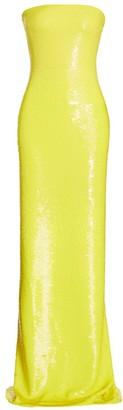 Ralph Lauren Landis Strapless Sequin Gown