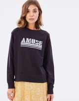 Amuse Society Amuse Fleece Sweater