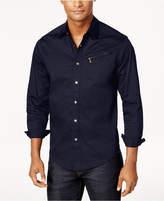 Sean John Men's Zip-Pocket Flight Shirt, Created for Macy's