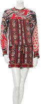 Etoile Isabel Marant Printed Long Sleeve Romper w/ Tags