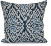 Rhodes Square Throw Pillow in Denim
