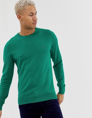 Tommy Hilfiger classic cotton crew neck jumper