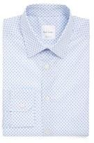 Paul Smith Men's Extra Trim Fit Paisley Print Dress Shirt
