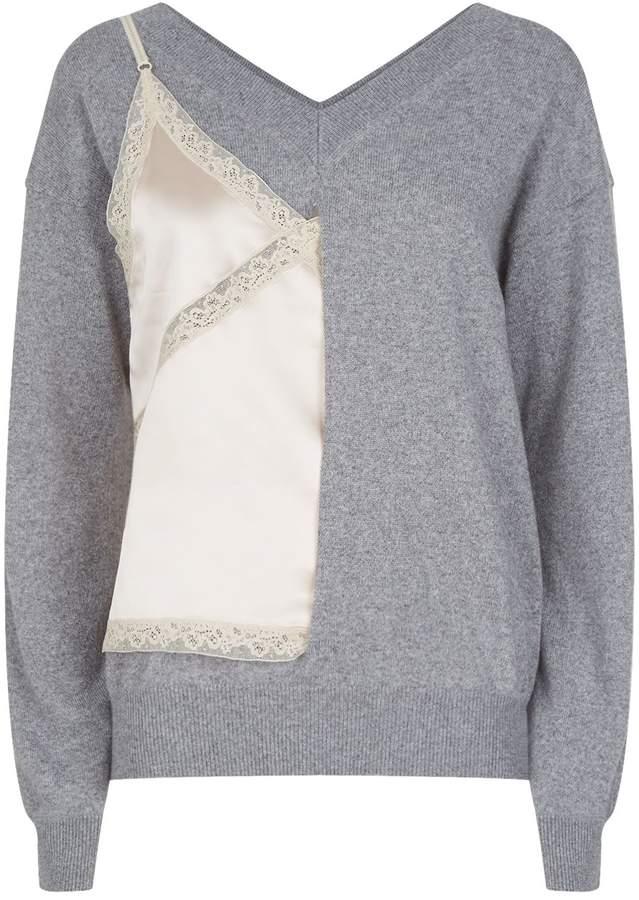 Alexander Wang Cami Insert Sweater