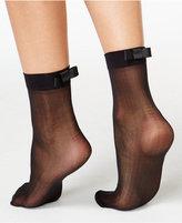 Kate Spade Women's Oversized Tab Bow Ankle Socks