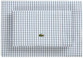 Lacoste Grid Sheet Set - Navy