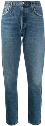 AGOLDE Jamie straight organic cotton jeans