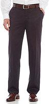 Roundtree & Yorke Gold Label Non-Iron 100 Percent Luxury Supima Cotton Flat Front Inno-Flex Pants