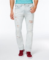 True Religion Men's Ripped Light Wash Jeans