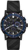 Burberry BU9806 42mm Stainless Steel Case Rubber Anti-Reflective Sapphire Men's Watch
