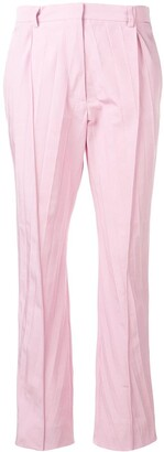 Valentino pleated cropped trousers