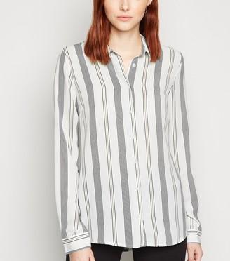 New Look Tall Stripe Long Sleeve Shirt
