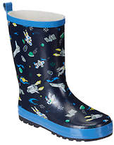 John Lewis Children's Space Wellington Boots, Navy