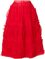 Comme des Garcons gathered tulle skirt