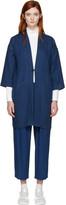 Blue Blue Japan Indigo Hanten Coat
