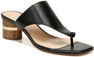Franco Sarto Leather Thong Sandals - Marguet