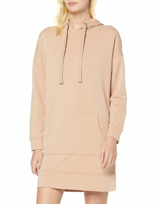 New Look Women's Woven Tie Hoody Dress