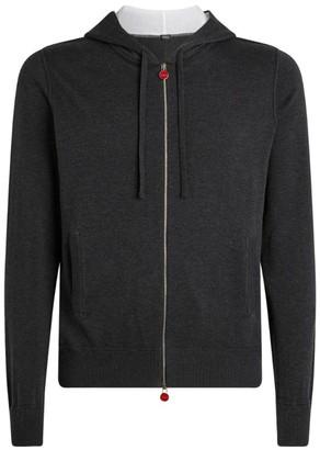 Kiton Cotton Zip-Up Sweatshirt