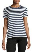 Ralph Lauren Short-Sleeve Crewneck Striped T-Shirt