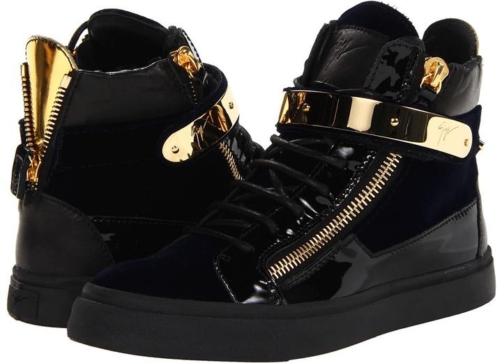 Giuseppe Zanotti RDW311 47158 (Veronica Navy) - Footwear