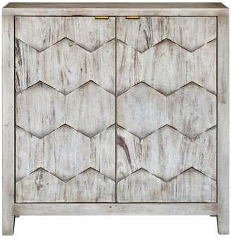 Uttermost Catori Smoked Ivory Console Cabinet by 25862 in Br