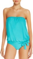 Athena Heavenly Solid Bandeau Tankini Top