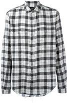 Stampd checked shirt - men - Cotton - L