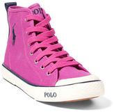 Ralph Lauren Carlisle III Canvas Sneaker