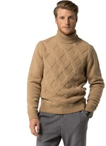 Tommy Hilfiger Textured Wool Turtleneck