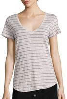 Paige Lynnea Striped Linen Tee