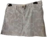 Twenty8Twelve By S.miller Grey Denim - Jeans Skirt for Women