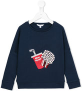 Little Marc Jacobs sequin embellished sweatshirt - kids - Cotton/Polyamide/Spandex/Elastane/Modal - 3 yrs