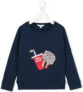 Little Marc Jacobs sequin embellished sweatshirt - kids - Cotton/Polyamide/Spandex/Elastane/Modal - 4 yrs