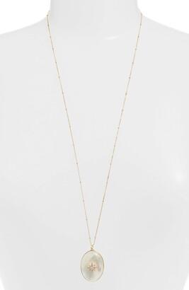 Argentovivo Celestial North Star Stone Pendant Necklace