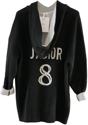 Christian Dior Black Cashmere Knitwear