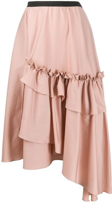 Antonio Marras Asymmetric Ruffled Skirt