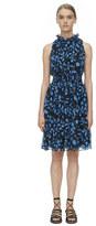 Rebecca Taylor Sleeveless Kyoto Floral Smock Dress