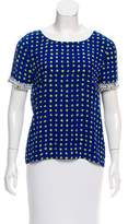 Moschino Cheap & Chic Moschino Cheap and Chic Embellished Polka Dot Top