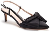 Kate Spade marseille bow pointed toe slingback pump